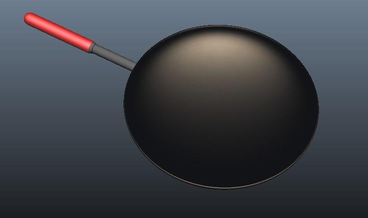 3D pan model