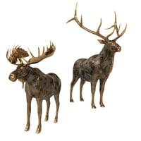 deer elk 3D