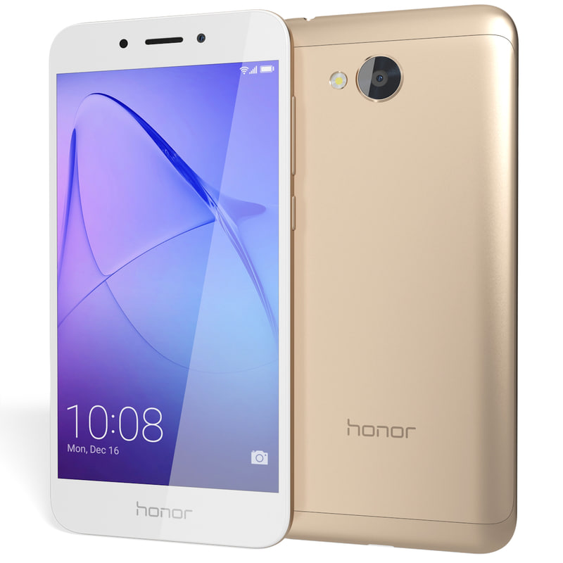 3D realistic honor 6a gold