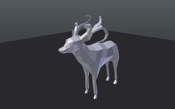 deer stag model
