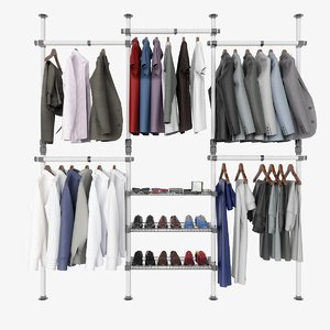 clothes accessories 3D model