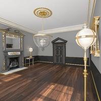 3D classical interior model