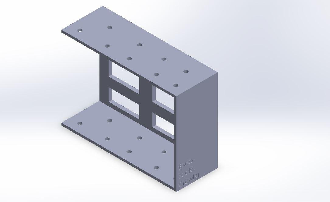 3D battery support rc4wd gelande