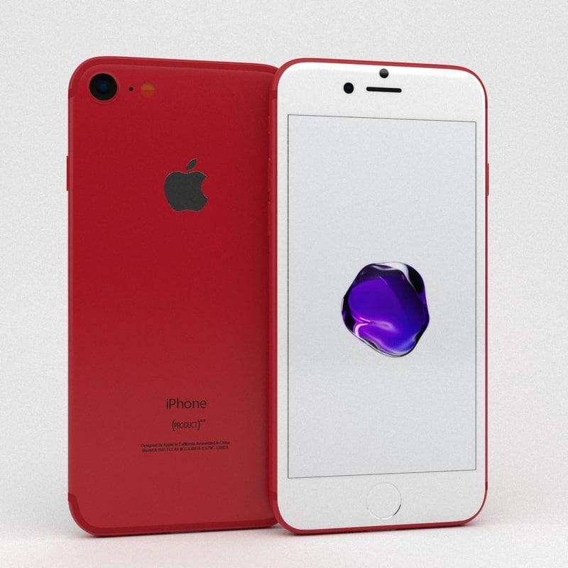 apple iphone 7 3D
