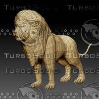 Lion_3d_model