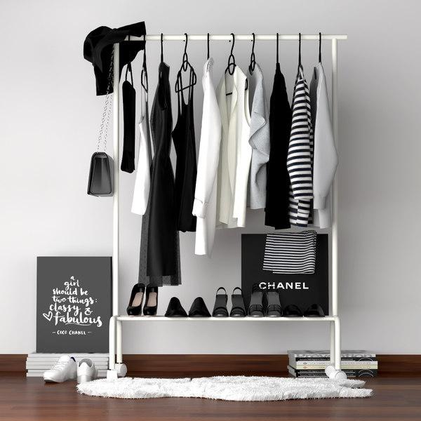 3D model set clothes 1