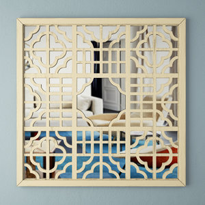 mirror screen wall art 3D