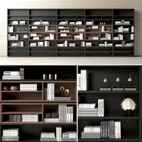 3D shelving decor model