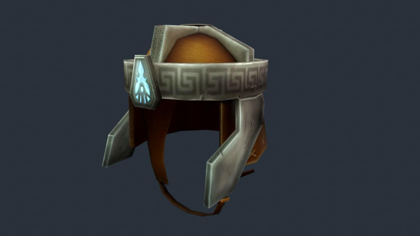 helmet dwarf 3D