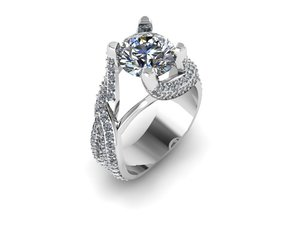 wedding ring 3D