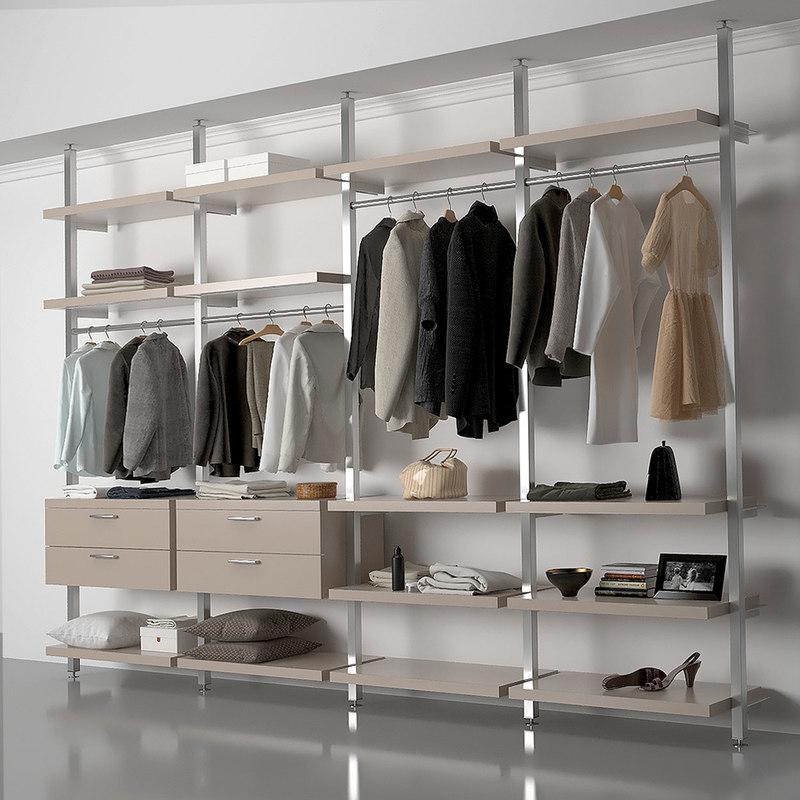 3D model dressing room