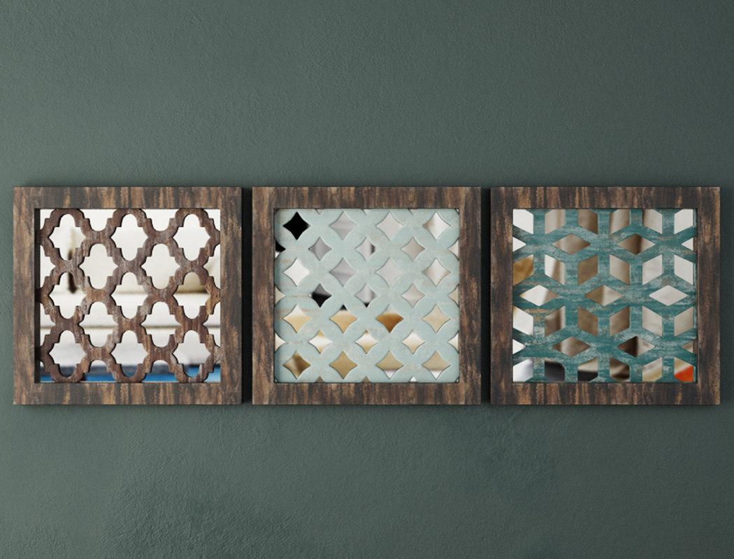 3D wood wall decor