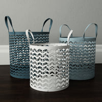 3D zigzag basket set