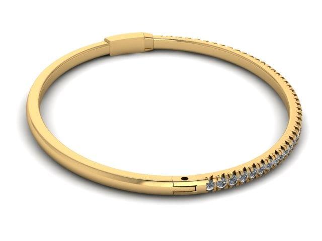 simple bracelet 3D model