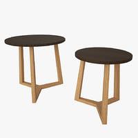 stools v-ray 3D model