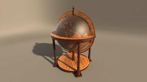 globus bar 3D model