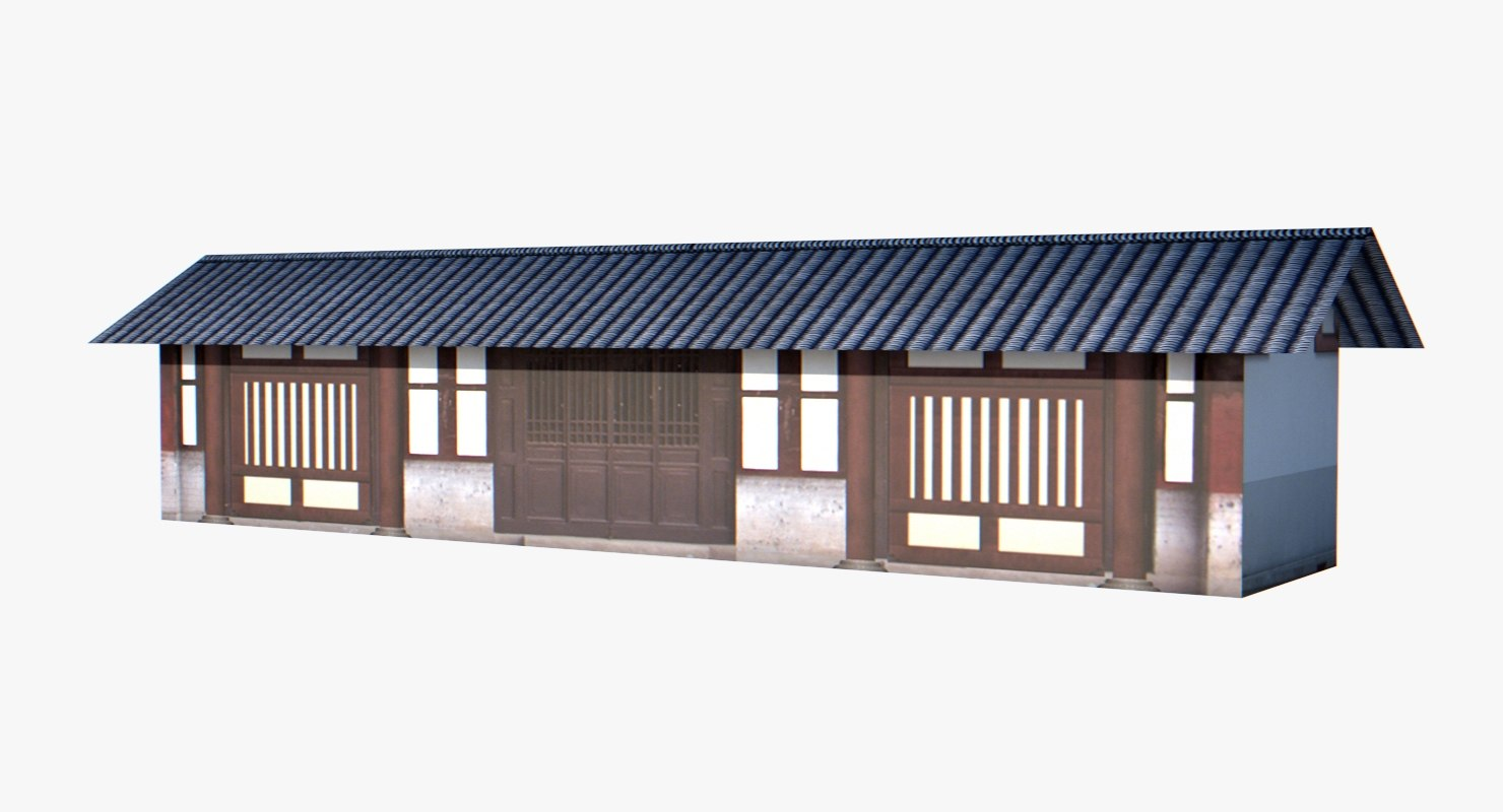 chinese palace 3D