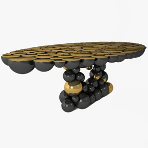 bdl newton table 3D model