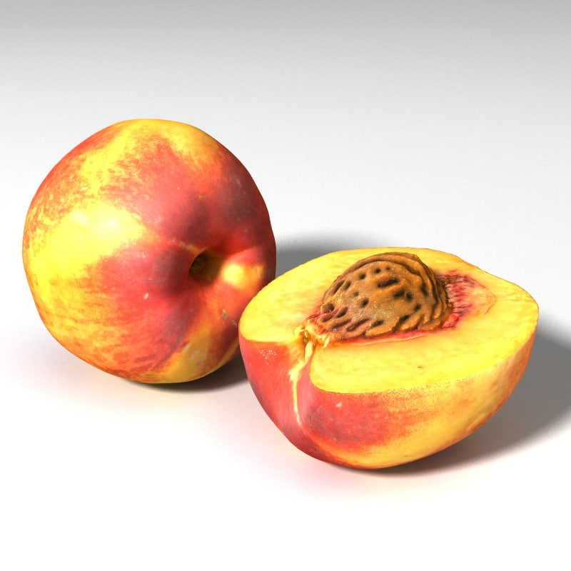 peach 3D