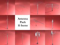 3D radio antennas