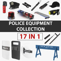 Police Equipment Collection