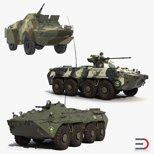 3D russian armoured vehicles model
