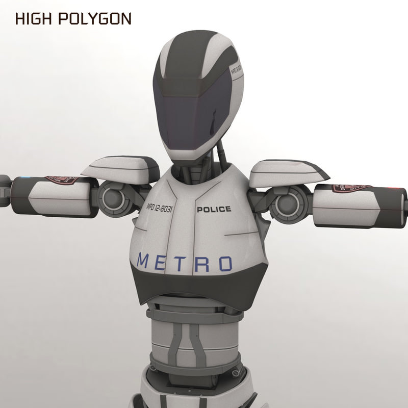 police android robot model