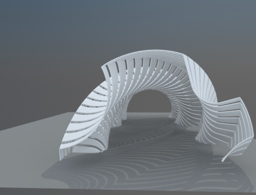 3D parametric pathways