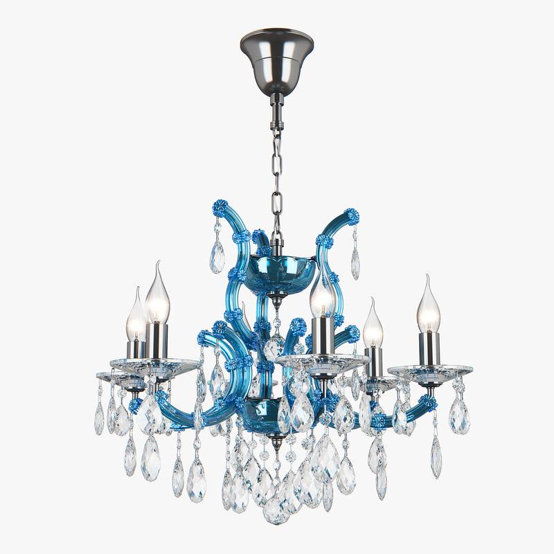 3D 698065 champablu osgona chandelier model