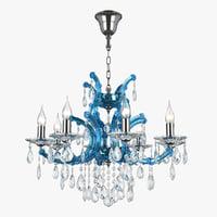3D 698085 champablu osgona chandelier