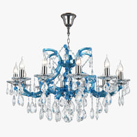 698125 champablu osgona chandelier 3D