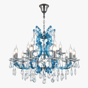 698165 champablu osgona chandelier 3D model