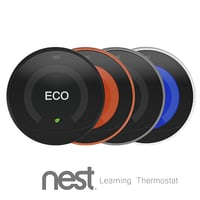 nest thermostat 3D model