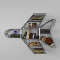 set grid 3D model
