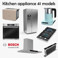 BOSCH Kitchen Appliance Collection - 41 models