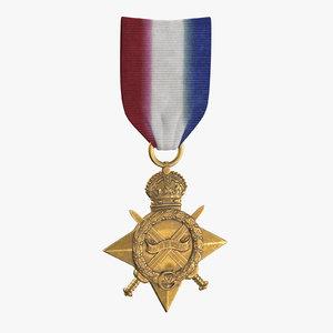military medal 01 3D