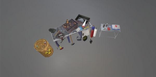 tools pack 3D model