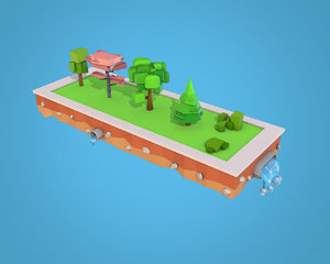 3D ready pack trees bushs