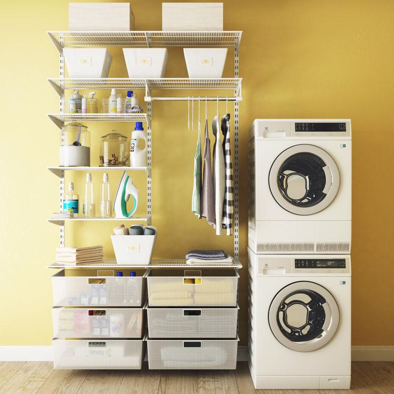 laundry 3D