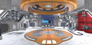 3D level hangar