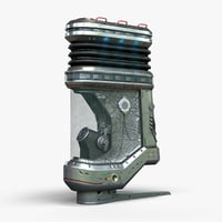 3D energy device asset -
