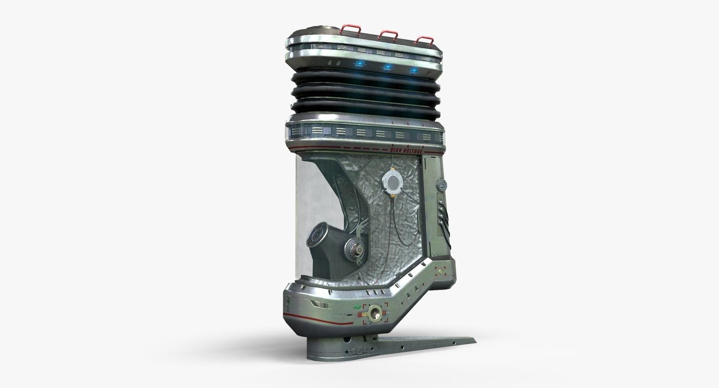 3D energy device asset -
