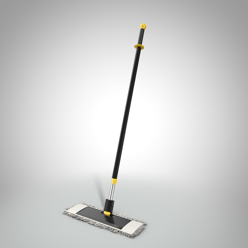 3D cleaning mop