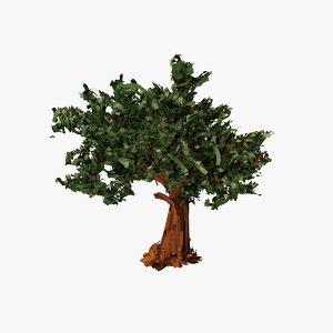 tree paper strokes 3D model