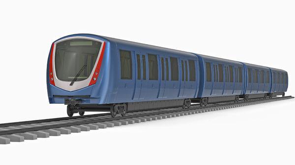 bombardier innovia metro 300 3D model