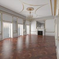 Classic Interior Hall