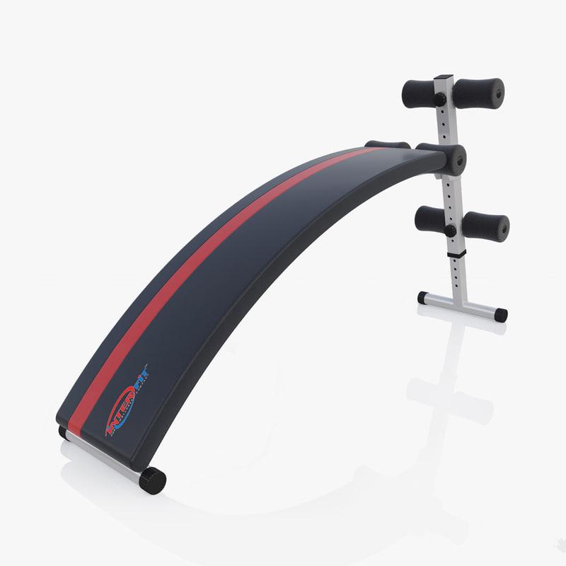 3D bench workout