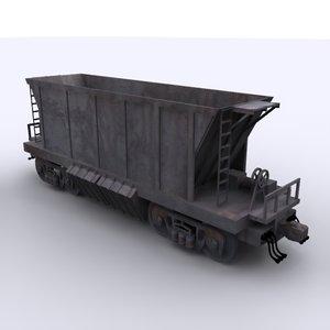 coal carriage 3D