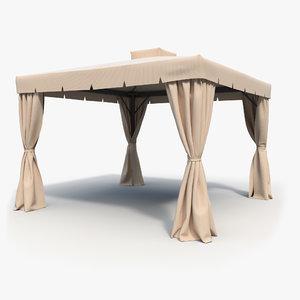 summer tent 3D model