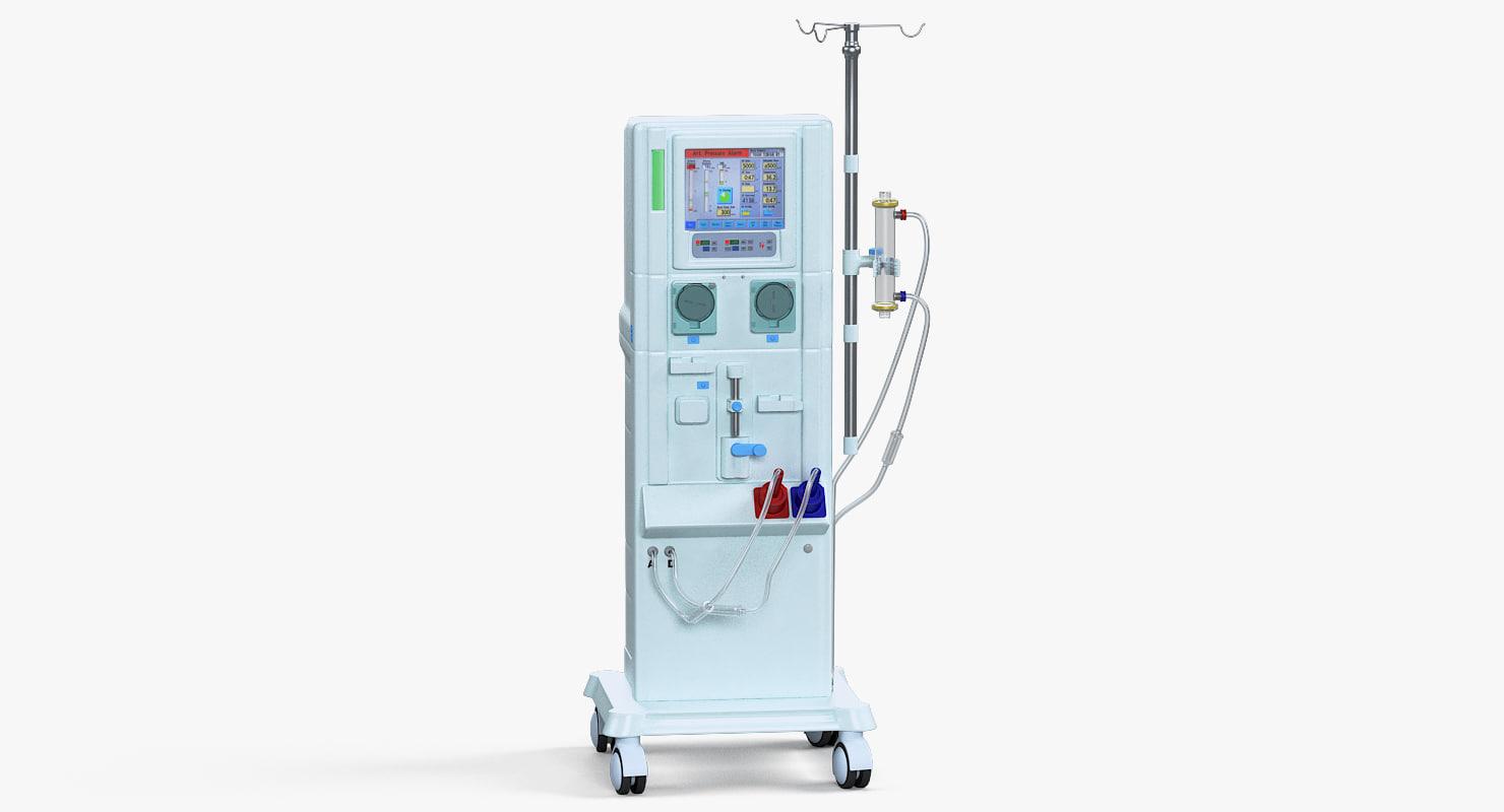 3D model dialysis machine